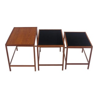 Set of Scandinavian Modern Nesting Tables Designed by Kurt Ostervig For Sale