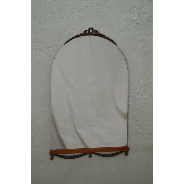 STORE ITEM #: 15814 1930s Partial Gilt Frame Hanging Wall Mirror AGE/COUNTRY OF ORIGIN – Approx 87 years, America...