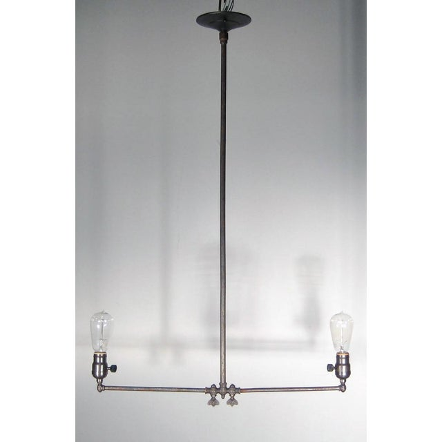 Gas Pendant Fixture (2-Light) - Image 2 of 6