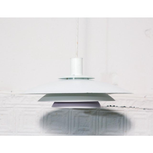 Form Light Danish White/Lilac Pendant Lamp For Sale In New York - Image 6 of 6