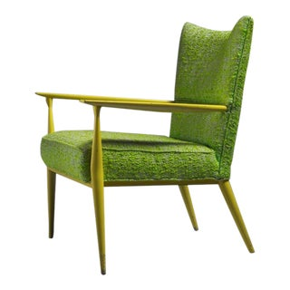Paul McCobb for Directional Lounge Chair Exceptional Colors, USA, 1950s For Sale