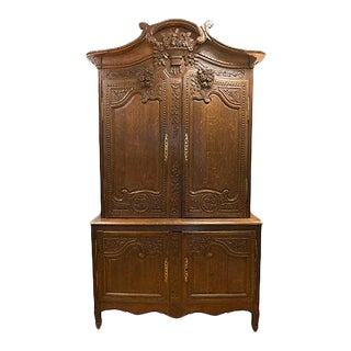 19th Century French Normandy Cabinet
