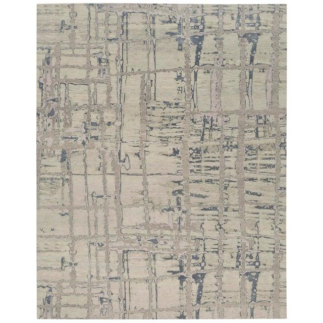 Abstract ModernArt - Customizable Qua Rug (Coolridge - 12x15) For Sale - Image 3 of 3