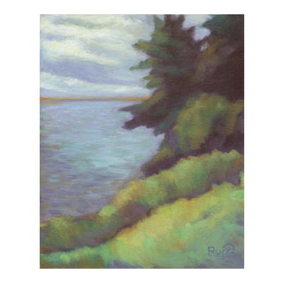 Big Sur Coast Northern California Landscape Oil Painting