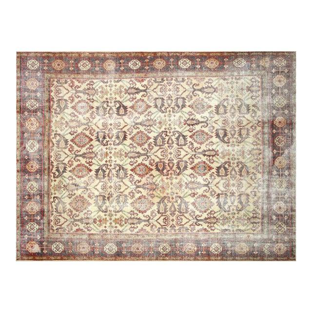 """1930s Persian Mahal Carpet - 9'6"""" X 12'6"""" For Sale"""