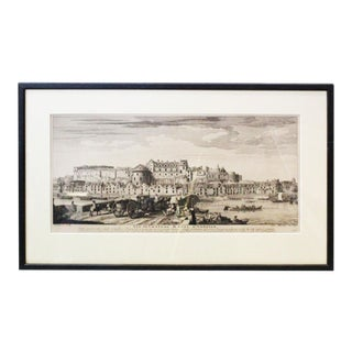 French City Framed Print For Sale