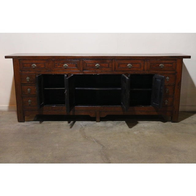 Late 19th Century Walnut Sideboard For Sale In Los Angeles - Image 6 of 8
