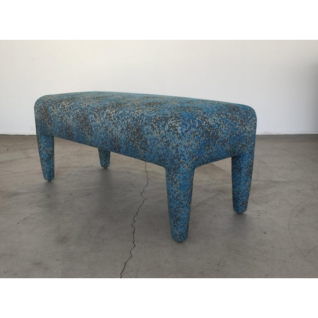 Donghia Mid-Century Donghia Bench For Sale - Image 4 of 13