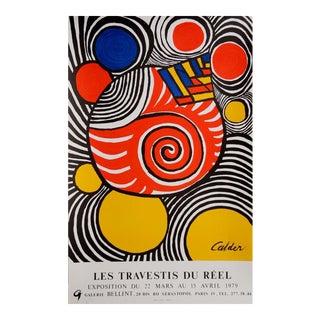 Les Travestis du Reel by Alexander Calder