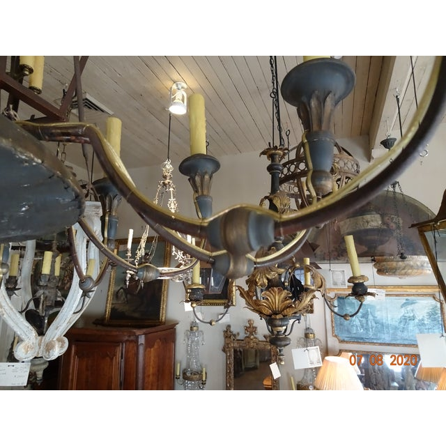 19th Century Italian Chandelier For Sale - Image 9 of 13