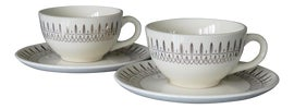 Image of Stoneware Tea Cups