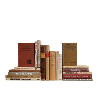 Man Cave Collection Decorative Books - Set of 20