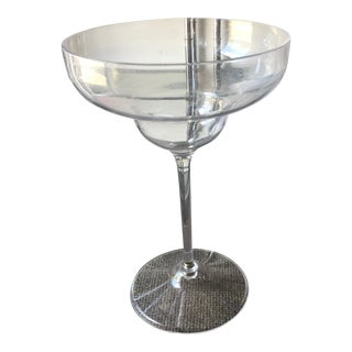 1970s Margarita Cocktail Glass Shaped Lucite Champagne Bucket** For Sale