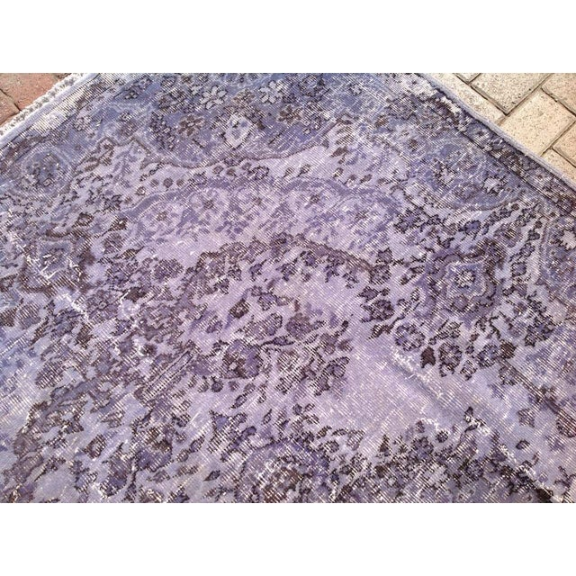 Over-Dyed Turkish Rug - 5′1″ × 8′1″ - Image 5 of 7