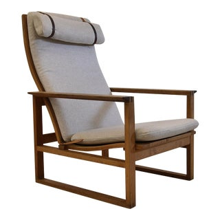 Mid Century Modern Børge Mogensen Lounge Chair For Sale
