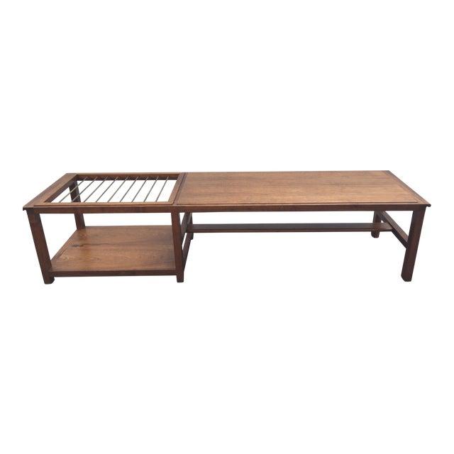 Mid-Century Teak Coffee Table - Image 1 of 9