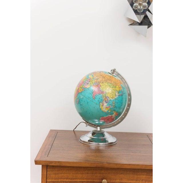 Illuminated Replogle Library Globe - Image 7 of 9