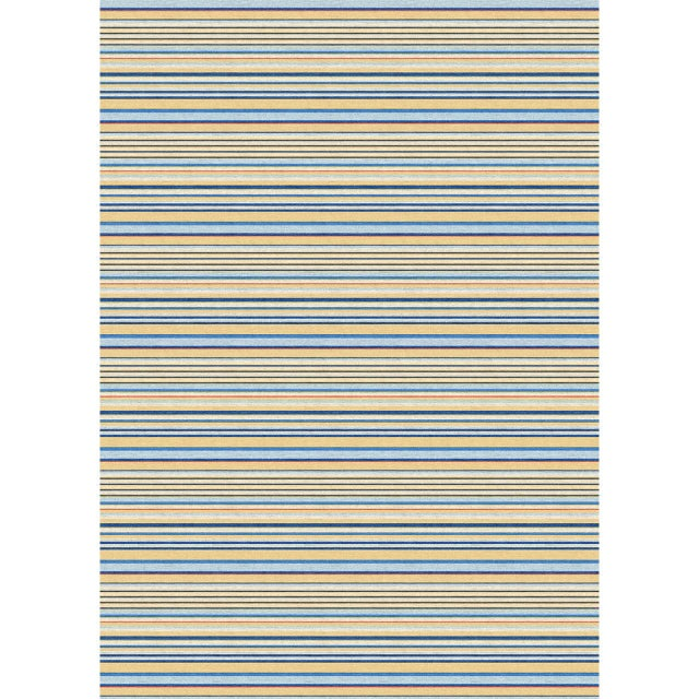"""Contemporary """"Avril Stripe"""" Mohair Rug For Sale - Image 3 of 3"""