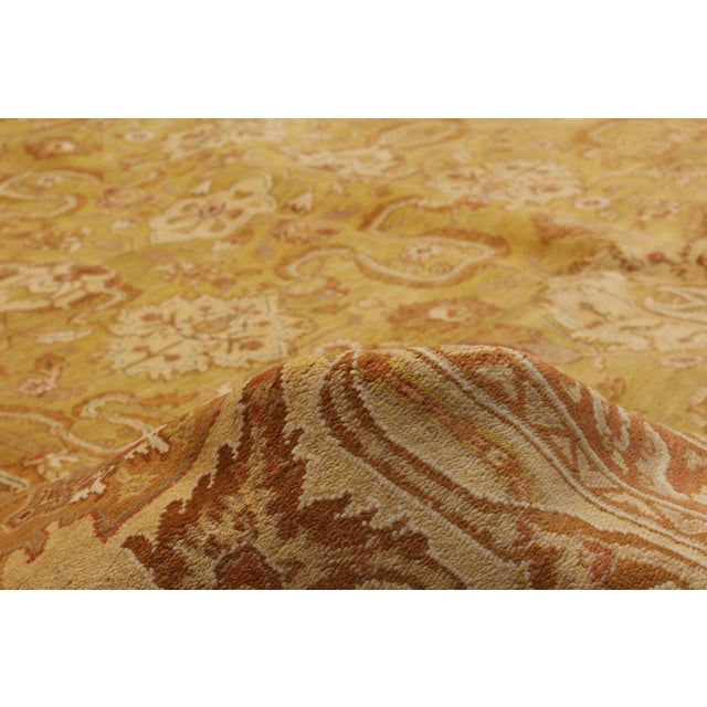 """2010s Classic Hand-Knotted Rug, 9'0"""" X 12'0' For Sale - Image 5 of 6"""