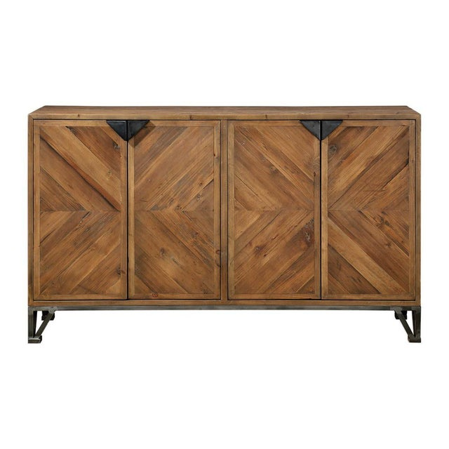 Reclaimed Wood Sideboard For Sale In Sacramento - Image 6 of 6