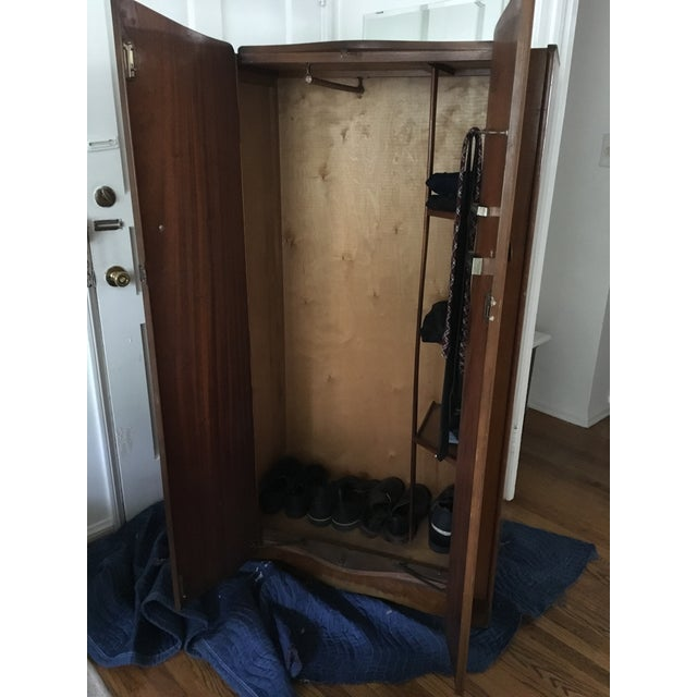 Vintage 1930's Wooden Armoire - Image 3 of 6