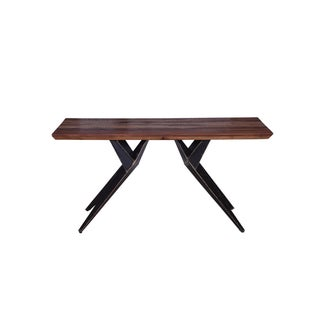 Contemporary Faunia Wooden Console Table For Sale