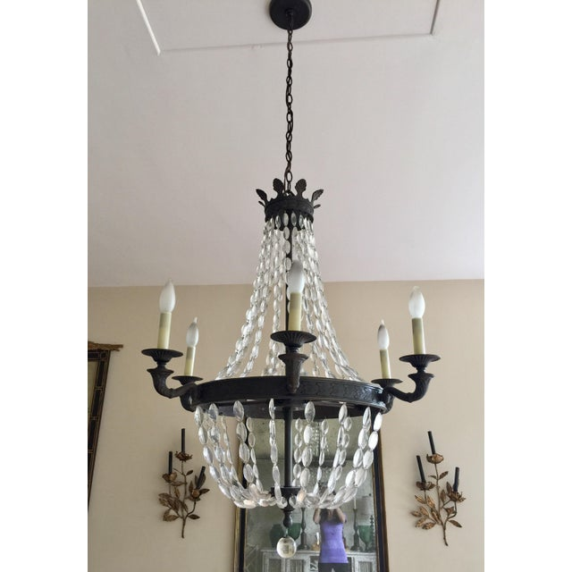 Empire-Style Chandelier - Image 2 of 5