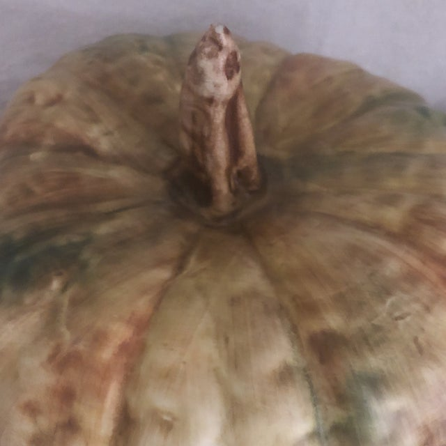Bresolin Pumpkin Tureen With Ladle For Sale In Wichita - Image 6 of 9