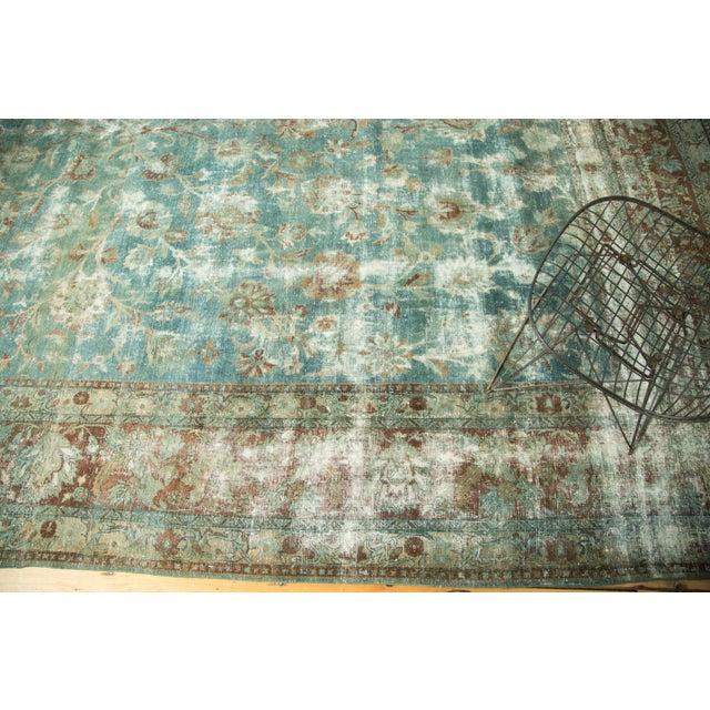 "Islamic Vintage Kerman Carpet - 9'9"" x 13'2"" For Sale - Image 3 of 10"