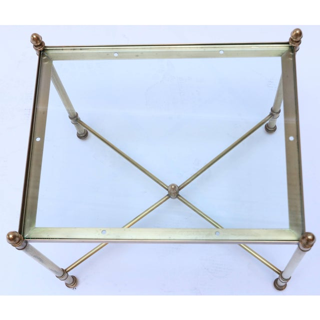 1960s Italian Brass Nesting Tables-Set of 3 For Sale - Image 9 of 10