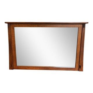 New Mission Hidden Television Mirror For Sale