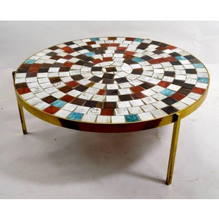 Mosaic Tile Top Table Preview
