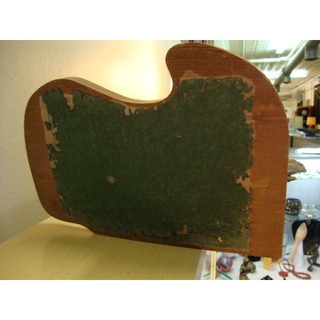 Copper Mid-Century Driftwood Free Form Sculpture For Sale - Image 7 of 7