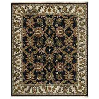 20th Century Persian Sultanabad Style Rug - 8′1″ × 9′10″ For Sale