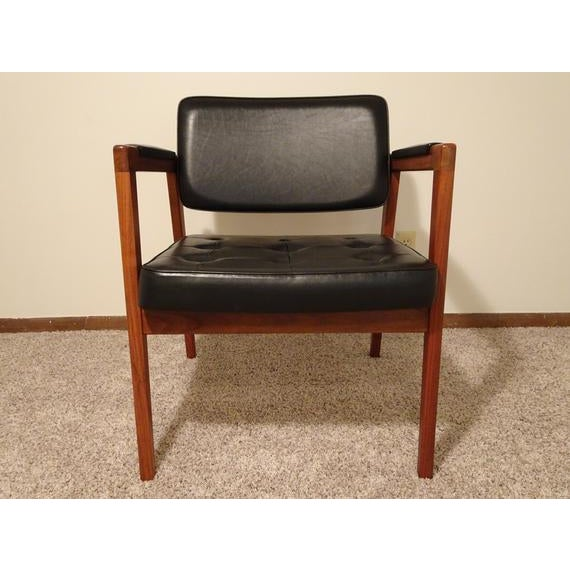 Danish Modern Mid Century Danish Modern Svegards Markaryd Arm Chair For Sale - Image 3 of 11