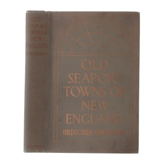"1916 ""Old Seaport Towns of New England"" Collectible Book For Sale"