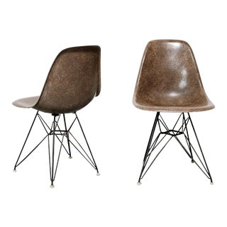 Pair of Eames Dsr Chairs for Herman Miller For Sale