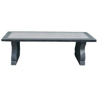 Ghent Belgian Blue Stone Dining Table For Sale