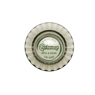 The Castaways Hotel Glass Ashtray For Sale