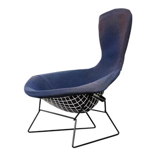 "Vintage Bertoia ""bird"" Lounge Chair for Knoll For Sale"