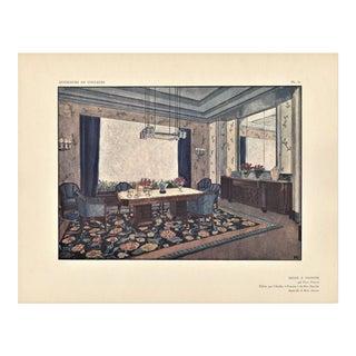 Art Deco Interior Design for Dining Room by Follot
