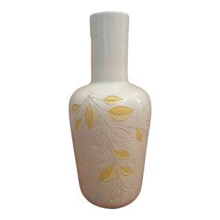 Vintage Ceramic Floor Vase For Sale