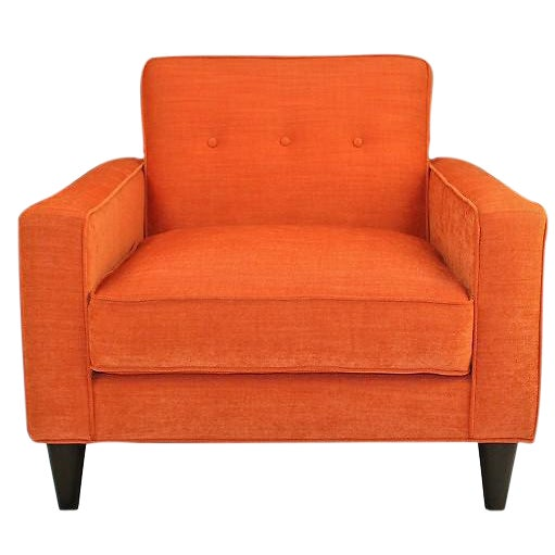 Mid-Century Modern Bowie Club Chair - Image 1 of 4