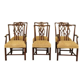 1990s Kindel Dining Room Mahogany Chairs - Set of 6