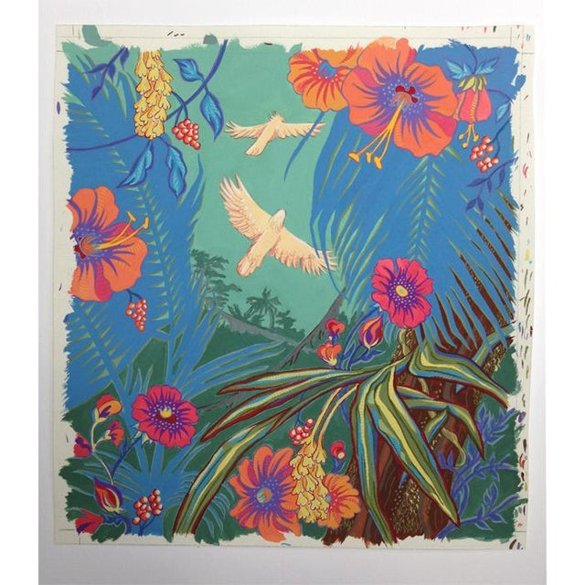 Tropical Bird 3 Original Painting For Sale In Seattle - Image 6 of 6
