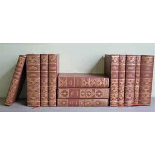 Vintage Brown and Gold Classic Literature Books - Set of 12 Preview