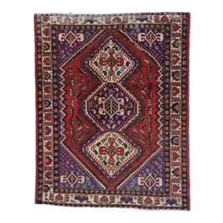 Vintage Persian Viss Rug - 05'04 X 06'08 For Sale