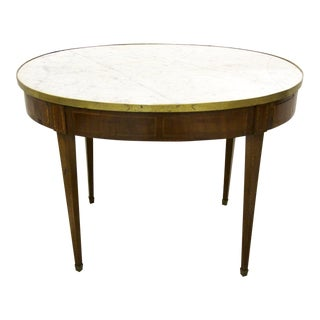 French 19th Century Oval Side Table For Sale