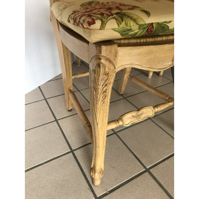 Country French Ladderback Dining Chairs With Custom ...