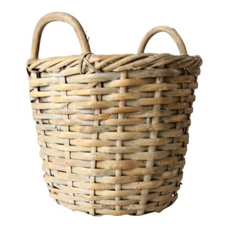 Vintage Double Handle Basket